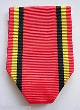 BELGIQUE: Ruban NEUF plié pour médailles civiles Belges.