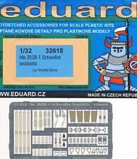 eduard Seatbelts Me-262B-1 Schwalbe Sitz-Gurte Ätzteile 1:32 Modell-Bausatz kit