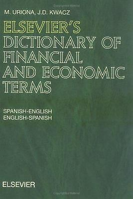 Elsevier's Dictionary of Financial and Economic Terms :...  (ExLib)