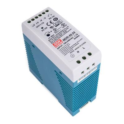 Meanwell mdr-40-24 hutschienen fuente de alimentación 40w 24v 1,7a conmutador CV DIN-Rail