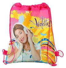 Violetta 2 Girls Children Cartoon Bag Drawstring Backpack Kids School Bags:24#