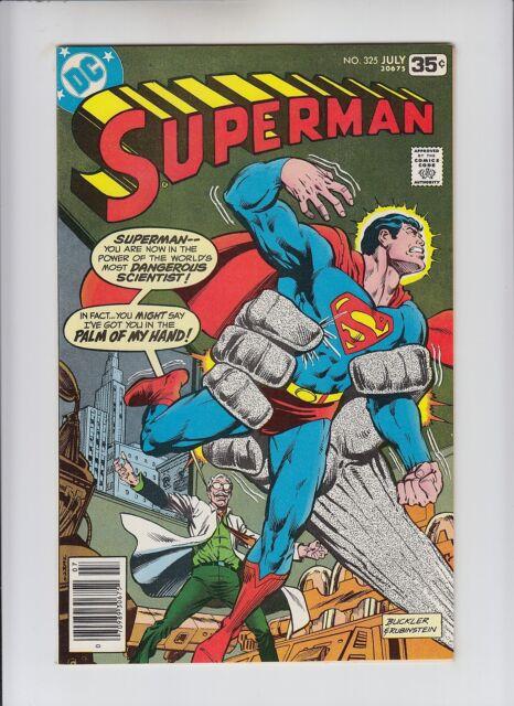 Superman #325 NM 9.4