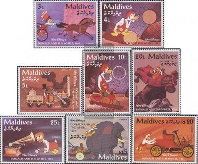 Malediven 2319-2326 Postfrisch 1995 Walt-disney-zeichentrickfilm Blut NäHren Und Geist Einstellen kompl.ausg.