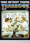 1982 Detroit Tigers MLB Baseball YEARBOOK