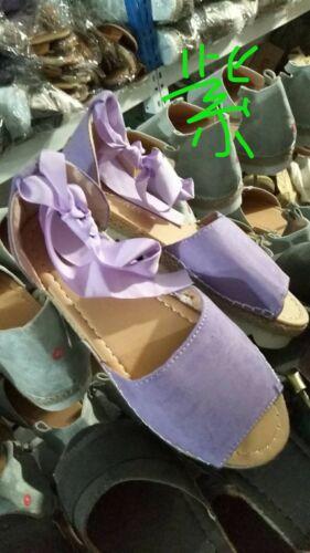 WOMENS NEW FLAT LOW WEDGE HEELS ESPADRILLES SUMMER LADIES SANDALS SHOES SIZE
