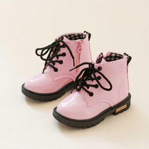 Winter Girls Pink Snow Boots Infant Children Martin Boot Cotton Student Shoes