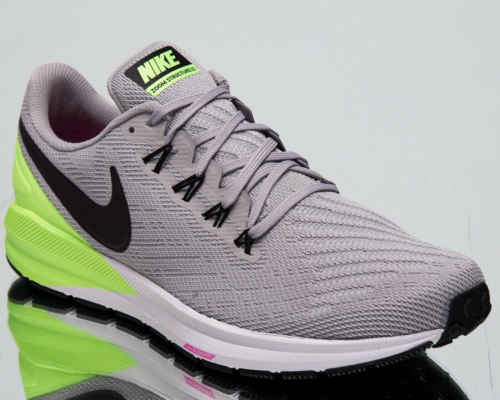 Nike Luft Zoom Struktur 22 Neue Herren Laufschuhe Atmosphere grau AA1636-004