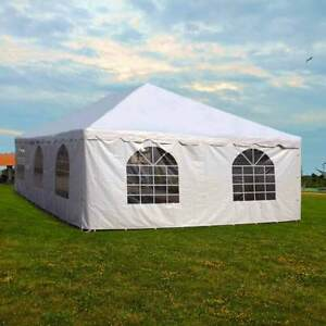 20x30 Commercial Pole Tent Party Wedding Canopy With 2
