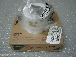 """New Box of 12 Lithonia Lighting 4/"""" Open Recessed Lighting Reflector Fixture 301"""