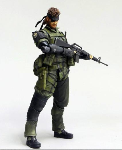 Square Enix - Play Arts Kai -  Metal Metal Metal Gear Solid Peace Walker Vol.3 - SNAKE ea54a1