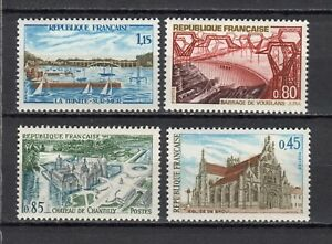 s25021-FRANCE-1969-MNH-Tourism-4v