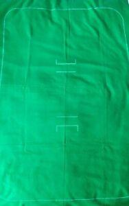 Vintage Subbuteo Cricket Pitch, Cloth.