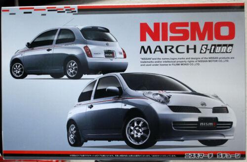 2005 Nissan Micra March Nismo S-Tune 3door JDM 1:24 Fujimi 188898