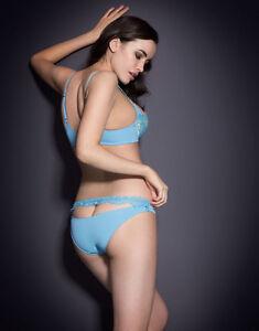 Lace Bnwt 2 amp; In Brief Blue 32c Provocateur Selena Bra Ap Satin Agent Size RwH87OnIxq