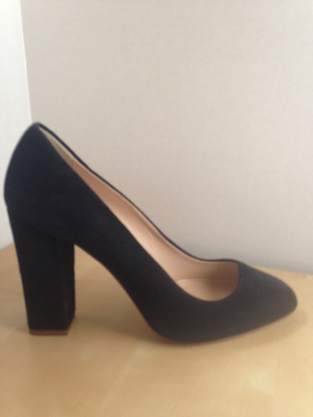J. Crew Pumps Stella Pumps Crew Suede Size 9.5 New b51cc5