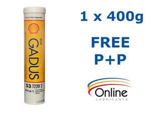 Details about Shell Gadus S3 T220 2 Multipurpose Brown Polyurea 400g Grease  Cartridges NLGI 2