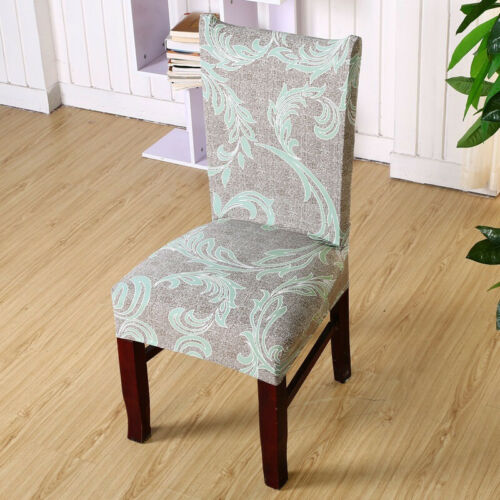 4PCS Stretch Dining Chair Cover Seat Protective Slipcovers Wedding Home Decor