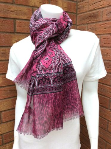 Made in cotone paisley rosa Smith In Foulard stampa Italy con di Paul oxBdCreW