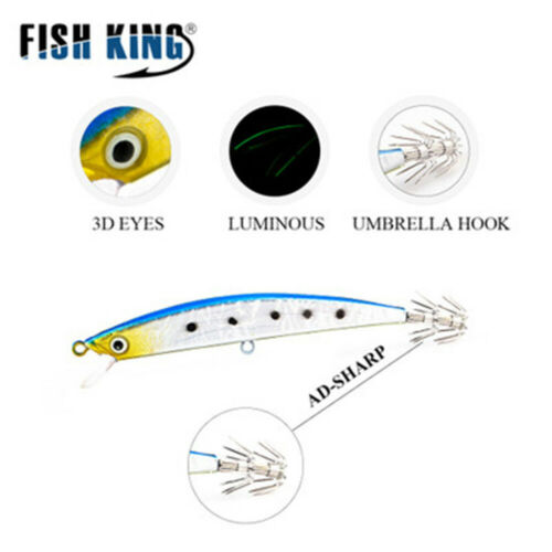 Simulation Jigs Squid Explosive Hook Fishing Tackle Octopus Bait Angling