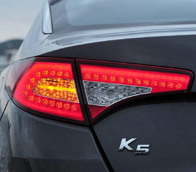LED Tail Light / Rear Lamp 1:1 Replacement Full Set-4p (Fits: 2011+ K5 Optima )