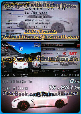 *fixed name* ~ GT-R R35 SpecV ~ 825HP A9 Wangan Maximum Tune 3DX