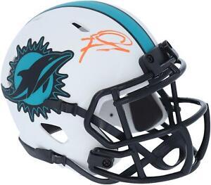 Tua Tagovailoa Miami Dolphins Signed Lunar Eclipse Alternate Speed Mini Helmet