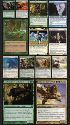 The Masked ENCHANTMENT Commander Deck Elder Dragon Highlander Magic Cards Magic The Gathering Pronto Para Jogar Estrid