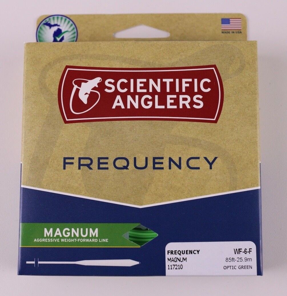 Scientific Anglers Frequency Frequency Frequency Magnum Fly Line WF6F Free Fast Shipping 117210 2da5b5