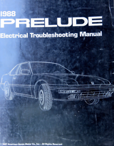 wiring diagram for 1988 firebird 1988 honda prelude electrical troubleshooting wiring diagram  1988 honda prelude electrical