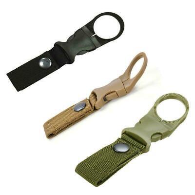 3 Loch Karabiner Outdoor Edelstahl  Multifunktion Hook Keychain Camping Wandern