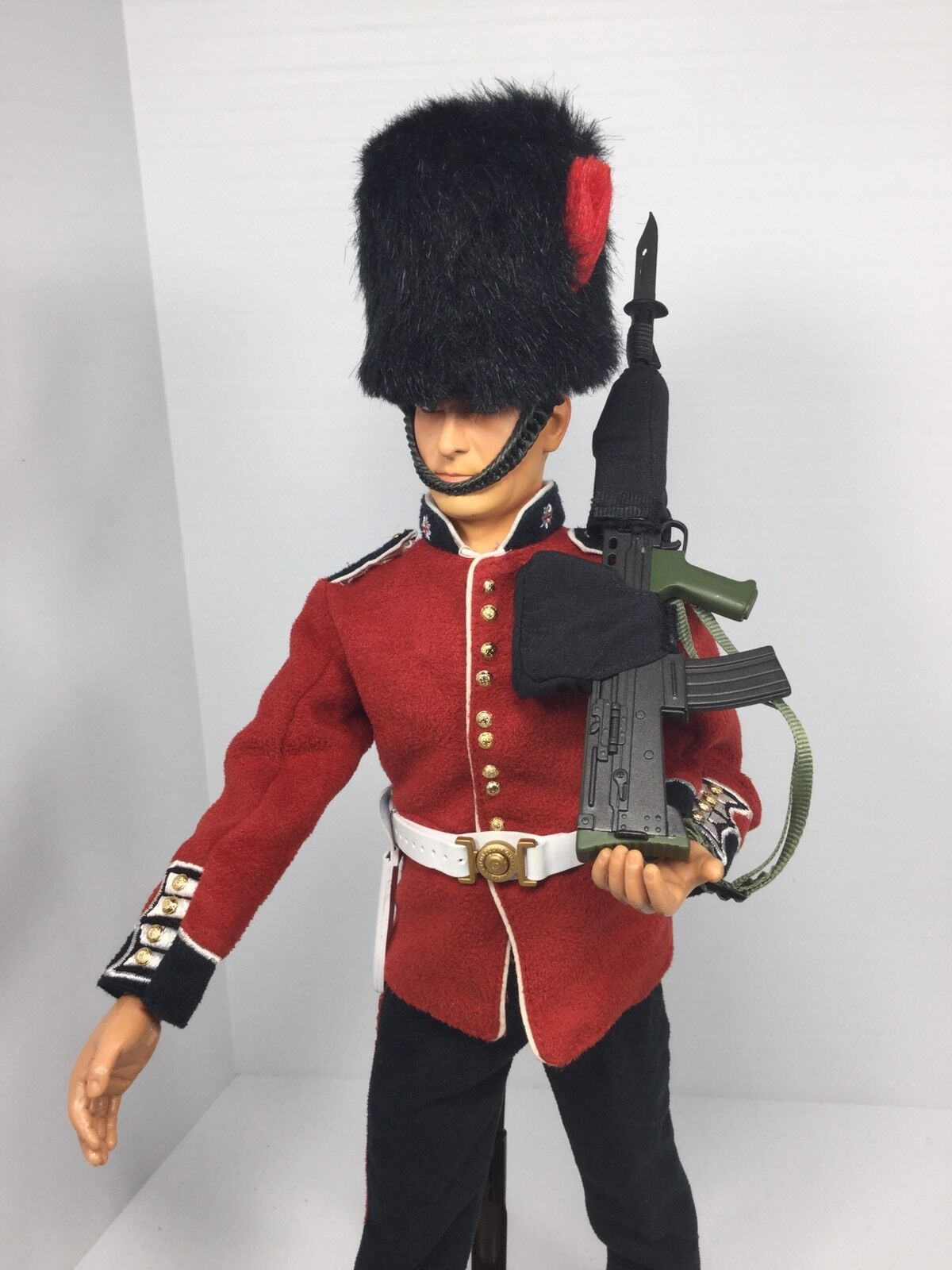 DID K80134B 1//6 Scale British Infantry Guard Soldier Action Figure Belt Bayonet