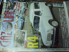 µ?a Revue Gazoline n°142 R4 Fourgon. Juvaquatre Barquette DS Ricou Fiat 1400
