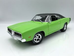 Dodge-Charger-R-T-1969-green-1-18-maisto-PVP-49-99-gt-gt-new-color-lt-lt