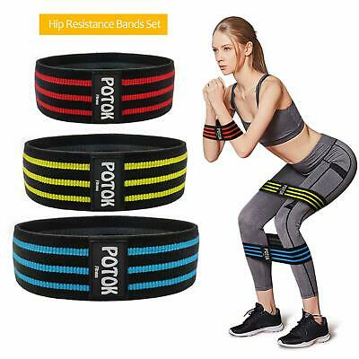 Hip Resistance Bands Fitness Loop Bands Legs Butt Thick Non-Slip Straps Lifting