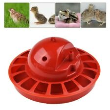 Poultry Water Drinking Cups Plastic Chicken Hen Bird Automatic Drinker Cage Farm