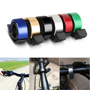 Bike Bicycle Cycling Aluminium Q Bell Alarm Ring 90db Safety MTB Handlebar Horn