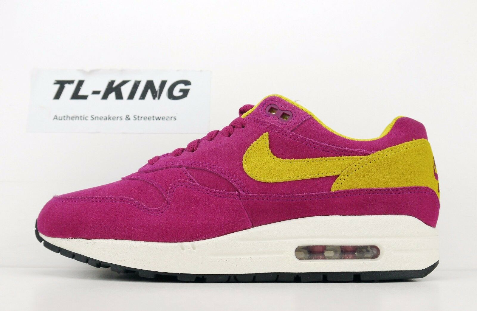 Nike Air Max 1 Premium Dynamic Berry 30th Anniversary 875844-500 IH