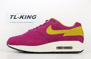 premium selection 14ac3 1a3f8 Image is loading Nike-Air-Max-1-Premium-Dynamic-Berry-30th-
