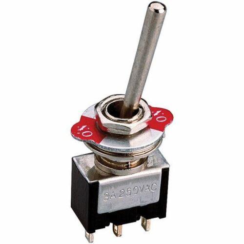 Zip Switch LB-601-2 Interrupteur à bascule Spst On-On 250 V AC 3 A