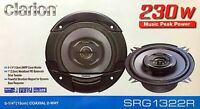 Clarion Srg1322r Coaxial 5-1/4 Car Audio Speakers, 5.25 (1 Pair)