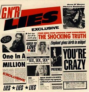 GUNS-N-ROSES-g-n-039-r-lies-CD-album-hard-rock-acoustic