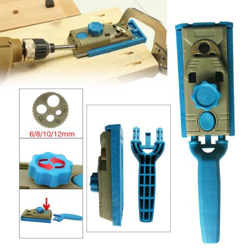Woodworking Jig bois Kreg pilote Poche Trou menuisier Hole Saw Drill Guide À faire soi-même Kit