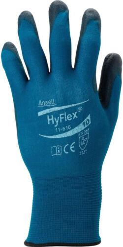 10 Ansell Handschuh HyFlex 11-616 Gr