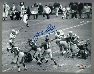 Y-A-Tittle-Signed-Auto-B-amp-W-Giants-8x10-Photo-W-HOF-71-SCH-Auth-27723-25