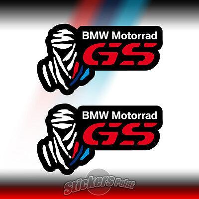 2 adesivi DAKAR BMW MOTORRAD GS stickers R1200 1150 1100 F800 F700 F650 F600