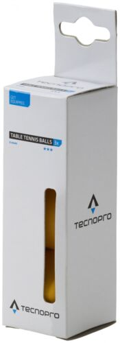 TecnoProTT-Ball 3-Stern Training Tischtennisball