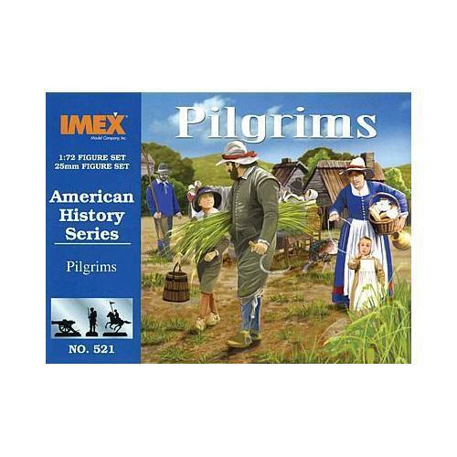 IMEX 940521 1//72 Amerikanische Geschichte:Pilgerfamilie