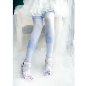 1498cf0e2 Image is loading Dream-castle-Lolita-Mori-Girl-Stockings-Tights-Japanese-