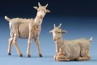 5 Scale Goat Figures - 2 Piece Set 5403-0 Fontanini on Sale