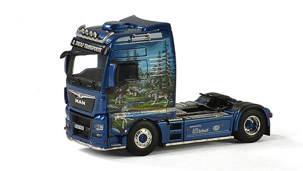 WSI 01-2131 MAN TGX XXXL Euro 6 Cab-TIROLF échelle 1 50